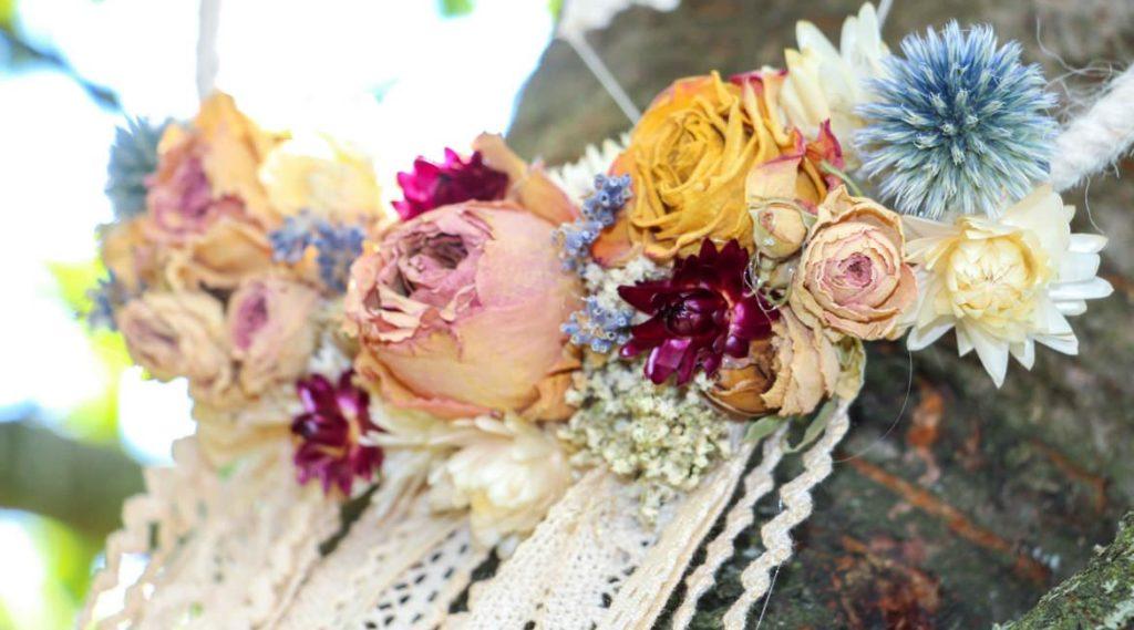 Trockenblumen sind voll im Trend.
